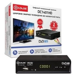 D-COLOR DC1401HD (черный)